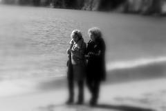 The sea at winter (marina bisogno) Tags: people blackandwhite women donne biancoenero