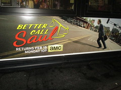 Better Call Saul Bus Billboard 5434 (Brechtbug) Tags: show street new nyc walter white signs man bus face its television hail yellow wall season for bill tv call king all remember with good name board telephone bad bob billboard advertisement bryan angry billboards actor saul amc avenue 7th better 29th spinoff breaking goodman odenkirk 2016 cranston my 01162016
