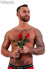 Valentine's Day with Nick Wagner 13 (Violentz) Tags: portrait hairy man male guy heart body muscle handsome bodybuilding fitness fury valentinesday physique tattooed patricklentzphotography nickwagner
