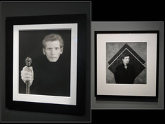 Robert Mapplethorpe. Expo Grand Palais. Paris. 2014. 2 autoportraits (fvib'r) Tags: autoportrait grandpalais robertmapplethorpe