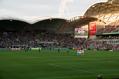 Melbourne City VS Melbourne Victory (tommy kuo) Tags: sport ball football stadium soccer australia melbourne match aleague melbournevictory melbournecity aamipark melbourneheart
