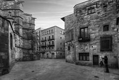 ... el pintor del gótico ... (franma65) Tags: barcelona bw byn blancoynegro pintor gotico ciutatvella callejuela barrivell barriogóticodebarcelona
