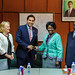 Meeting with Inonge Wina, Vice President of Republic of Zambia