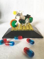 Kai's (KEISUKE) motorcycle  AKIRA Micro Motorcycles. LEGO (piroshilego69) Tags: lego kai micro motorcycle akira アキラ レゴ 甲斐