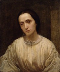 George Frederic Watts  Julia Margaret Cameron, 1850-52 // Painting: Oil on canvas, 610 x 508 mm. National Portrait Gallery, London. // via Art of Darkness: Daily Art Blog (ArtAppreciated) Tags: portrait art history female century portraits painting photography early george women artist julia famous fineart an blogs cameron portraiture artists margaret faves british watts 1850s npg figurative 19th realism frederic artblogs tumblr artoftheday artofdarkness date1852 artappreciated artofdarknessco artofdarknessblog