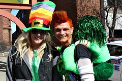 IN THE SPIRIT (MIKECNY) Tags: hairdye hat fun costume crazy albany orangehair stpatricksday