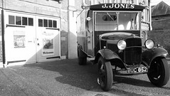 JONES`S BUTCHERS VAN (merseymouse) Tags: thetford dadsarmy jonessvan dadsarmymuseum