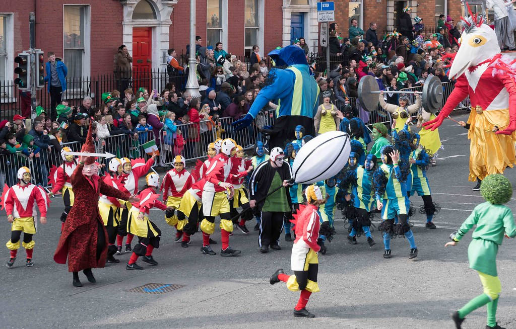 GAME ON BY CITY FUSION [DUBLIN 2016 PATRICK'S DAY PARADE]-112566