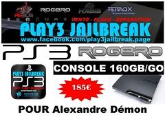 Alexandre Dmon (play3jailbreak) Tags: france slim alexandre relay commander play3 mondial 455 jailbreak manette cex ps3 dmon achat 160gb envoi acheter rogero