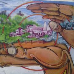 arte hurbana (leonilde_bernardes) Tags: mural arte sintra paz crianas pintura naoviolenciainfantil