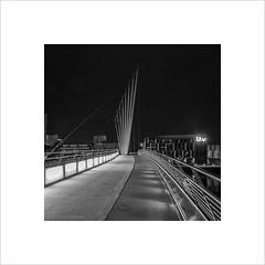 MediaCity Bridge (andyrousephotography) Tags: flickr darkness salfordquays tired lowry flickrites earlystart mediacity mediacityuk