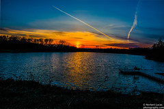 Sunset at Crosby Lake Carver. SOLITUDE or SANCTUARY is the topic for Sunday March 20th, 2016 (12story) Tags: sunset color minnesota solitude carver sanctuary lakewater crosbylake odc lowrynaturecenter ourdailychallenge