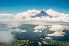Mt. Mayon (LorenzMao) Tags: clouds nikon philippines d750 bicol mtmayon legazpi albay inthesky mayonvolcano cebupacific lorenzmaophotography nikond750