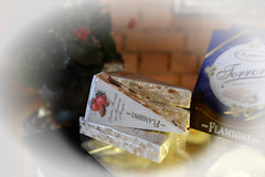 Flamigni (Ptolemy the Cat) Tags: italy stilllife italian nougat vignette confectionery nikond600 flamigni nikonf282470mmlens