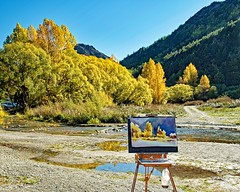 Painting (DASEye) Tags: autumn newzealand fall watercolor painting nikon fallcolors watercolour fallcolours davidadamson daseye