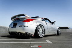Nissan 350Z x ACE Driven (ACEALLOYWHEEL/AMF FORGED) Tags: wheel nissan ace wheels convex exotic devotion modified flush custom lowered 350z concave slammed stance fitment acealloywheel acealloy zociety