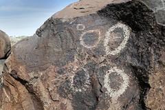 Petroglyphs / Blackrock Well Site (Ron Wolf) Tags: california archaeology circle nationalpark nativeamerican petroglyph anthropology shoshone rockart deathvalleynationalpark coso numic