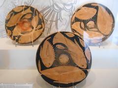 piatti di pesce, Museo Archeologico Nazionale,  Ferrara (Pivari.com) Tags: ferrara museoarcheologiconazionale piattidipesce