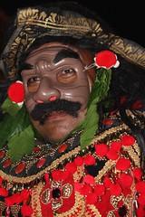 Balinese Topeng at Pura Kedisan, Bali (scinta1) Tags: bali temple dance village mask traditional decoration colourful tradition kampung drama ethnic pura lakebatur danaubatur topeng asli kintamani agama gunungbatur mountbatur upacara kedisan baturbaguscottage