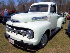 1951 Ford F-1 (splattergraphics) Tags: ford truck pickup f1 carshow 1951 jarrettsvillemd romancingthechrome