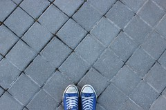 Walk and explore (Marta Paredes) Tags: madrid blue its up azul canon puente phone grow dont rbol trap brigde mvil 600d