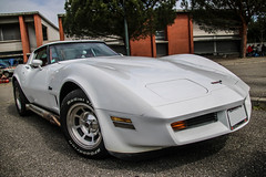 Corvette Stingray (xwattez) Tags: old france chevrolet car automobile stingray voiture american transports corvette ancienne 2016 vhicule amricaine gratentour boursedchange