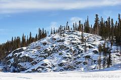 Stephen M. Fochuk Prelude Lake Boat Launch (Stephen M. Fochuk) Tags: winter snow canada landscape sunny northwestterritories preludelake