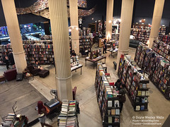 At The Last Bookstore in Los Angeles (Doyle Wesley Walls) Tags: records reading losangeles foto fotografie photographie stage columns books literature bookstore read business magazines fotografia bookshop browsing customers readings literacy fotografi fotografa texts patrons 1576  lagniappe smartphonephoto iphonephoto doylewesleywalls