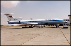 EX-85519 - Sharjah (SHJ) 11.1999 (Jakob_DK) Tags: 1999 shj omsj sharjah sharjahairport sharjahinternationalairport tupolev tupolev154 tupolev154b tupolev154b2 tu154 tu154b tu154b2 careless kga kyrgyzstan kirgistan kyrgyzstanairlines kirgistanairlines