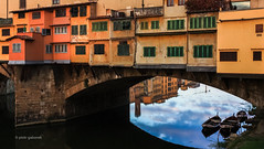 Ponte Vecchio (pietkagab) Tags: trip travel bridge italy canon photography florence europe sightseeing tuscany pontevecchio 450d pietkagab piotrgaborek