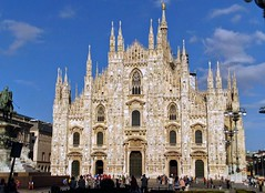 Milan Cathedral (stranger_bg) Tags: santa city travel light sunset sky italy cloud building tower art church colors saint skyline architecture grande photo rainbow san europe arch view christ cathedral photos outdoor maria basilica milano mary ngc picture stranger romano explore cielo views di christianity monuments metropolitana nativity metropolitan cattedrale nascente cathedralbasilica   caterals strangerbg