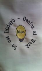 Work (leonilde_bernardes) Tags: work avental trabalho trabalhando bordado personalizado cozinhando enxoval