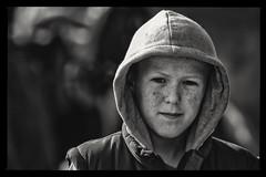 Hoodie with freckles (Frank Fullard) Tags: street ireland portrait horse irish galway hoodie fair traveller freckles ballinasloe horsefair fullard irishtraveller frankfullard