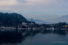 Lake Bled (laurensianphotography) Tags: lake church slovenia bled