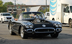 1959-1960 Chevrolet Corvette (RudeDude2140a) Tags: street black classic chevrolet sports car convertible pro corvette 1959 roadster 1960