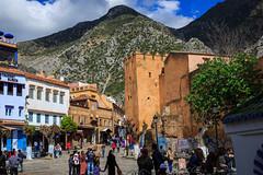 Calle de Chefchaouen (Pablo Rodriguez M) Tags: morocco maroc chefchaouen marruecos