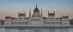 Parliment, Budapest, Hungary (ott.geoffrey) Tags: sunset hungary gothic budapest parliament government parliment danube
