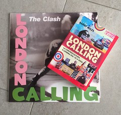 London Calling! #londoncalling #theclash #clash #barrymiles #london (Silvia_78) Tags: london clash londoncalling theclash barrymiles