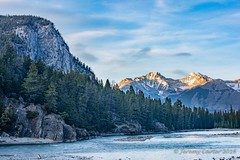 Bow River Spring Evening (jeremyrebeccacarter) Tags: bowriver banffnationalpark
