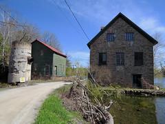 Former Grist Mill in Bedford Mills, Ontario (Ullysses) Tags: ontario canada mill moulin spring westport printemps bedfordmills benjamintett