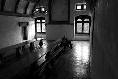 Refectorio de Tomar (Jo March11) Tags: blancoynegro portugal canon monocromo arquitectura interior convento canoneos monasterio leiria tomar templarios comedor ordendeltemple refectorio ieletxigerra idoiaeletxigerra eletxigerra conventodelcristo