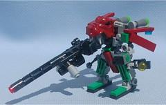 Hellhound Binary (Mantis.King) Tags: lego scifi futuristic mecha mech moc microscale mechaton mfz mf0 mobileframezero