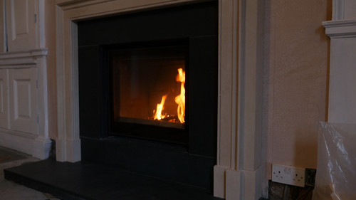 The Westwood with inset fire