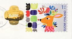 Finnland 5 (postcardlady1) Tags: stamp briefmarke