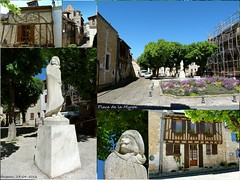 Cyrano de Bergerac (brigeham34) Tags: france faades eu dordogne visite bergerac vieilleville aquitaine ruelles maisonscolombages placedelamyrpe fz45 statuedecyranodebergerac jeanvaroqueaux