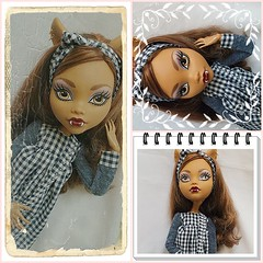 (redlizzy2) Tags: 17inch handmadeclothes clawdeen monsterhigh