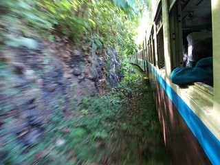 Train from Hsipaw to Mandalay