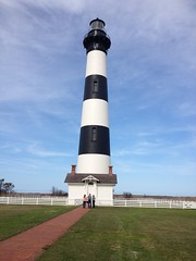 Bodie Island Lighthouse (polarseamonster) Tags: county light white black head north carolina dare outer banks nags