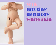 WTB (SophyMolly) Tags: white doll want tiny buy bjd luts delf wtb abjd