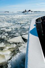 Frozen Water (LiveToday84) Tags: trip travel winter sea ice water island boat frozen helsinki north suomenlinna d80